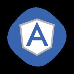 angular, angularjs, coding, development, js, logo, script icon