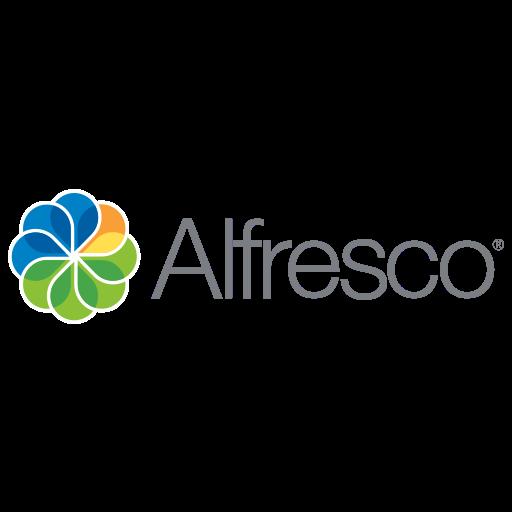 alfresco, code, development, logo icon