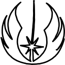 jedi, logo, logos, order icon