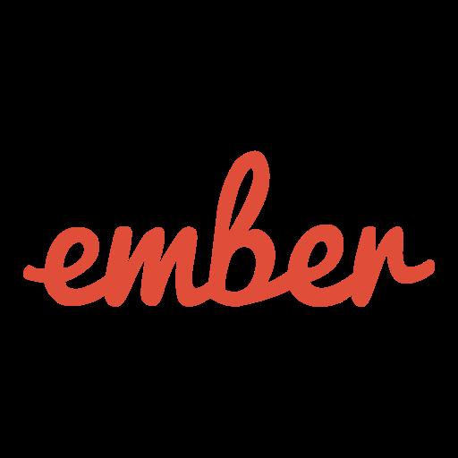 ember, logo, logos icon