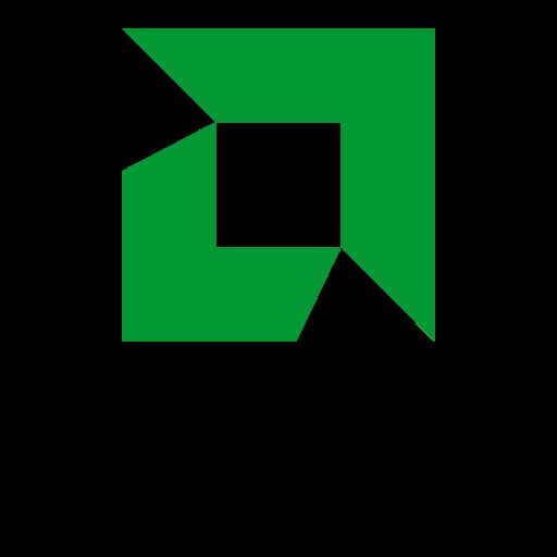 Amd, logo, logos icon