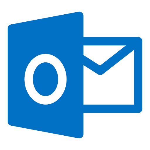 Logo, outlook icon
