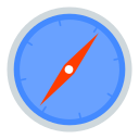 logo, safari icon