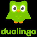 duolingo, logo, brand