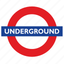 city, logo, london, metro, metropolitan, underground icon