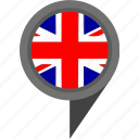 britain, geo, great, london, pointer icon