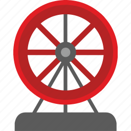 britain, ferris, london, wheel icon