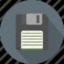 disc, disk, floppy, floppydik, floppydisc, longico icon