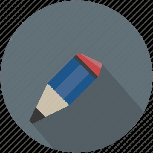 longico, pencil, school, used icon