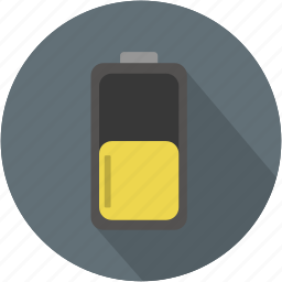 battery, duracell, duration, energy, longico, medium icon
