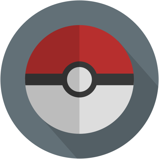 longico, pikachu, pokeball, pokemon icon