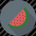 fruit, green, longico, red, watermelon icon