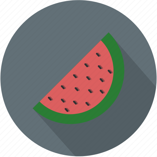 fruit, green, longico, red, watermelon icon