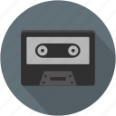 longico, music, retro, sound, tape, vintage icon