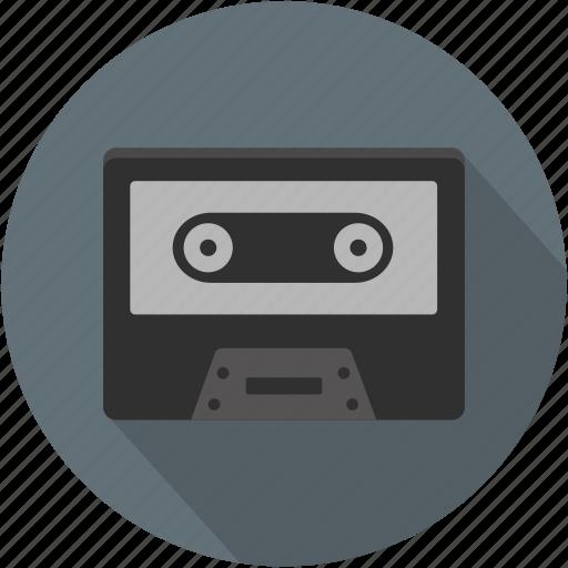 longico, music, retro, sound, tape, vintage icon