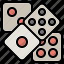 casino, dice, dices, gambling, game, gaming, luck