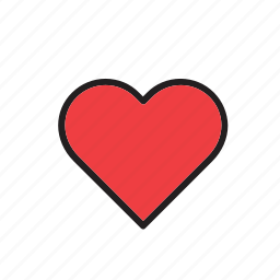 day, heart, love, romance, valentines icon