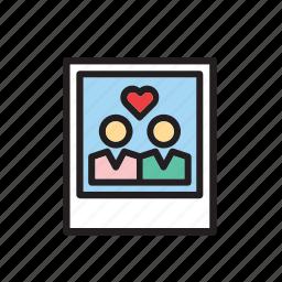 heart, instant, love, photo, photography, polaroid, valentines icon