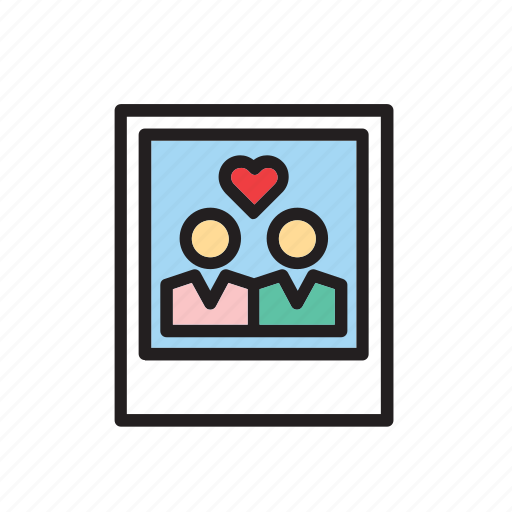 heart, instant, love, photo, photography, polaroid, valentines icon