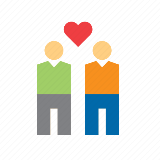 couple, gay, in love, love, people, romance, valentines icon