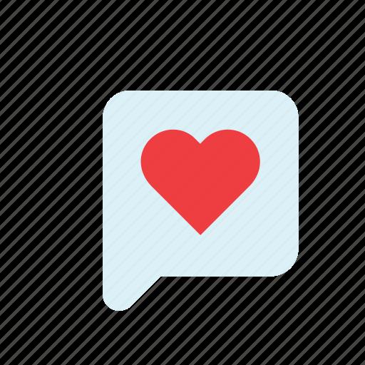 bubble, heart, i love you, love, romance, speech, valentines icon