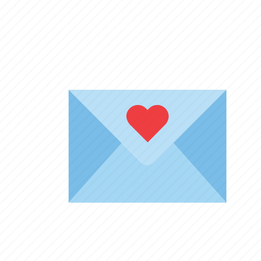 envelope, heart, love, romance, valentines icon