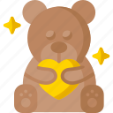 bear, teddy, toy, children, kids