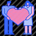 gift, women, love, heart, romantic, dating, valentine