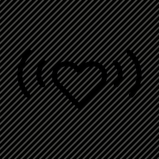 heart, love, shine, valentines day, vibe, wedding icon