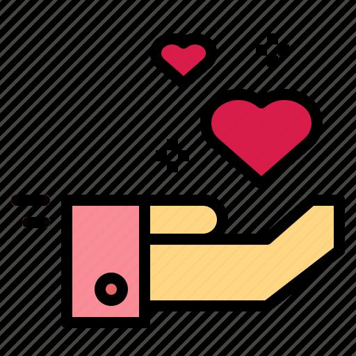 care, charity, health, heart, love icon