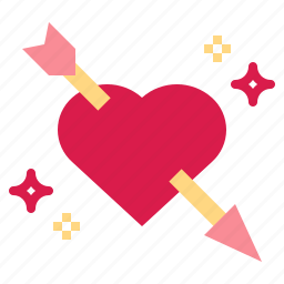 cupid, day, lovely, romantic, valentines icon