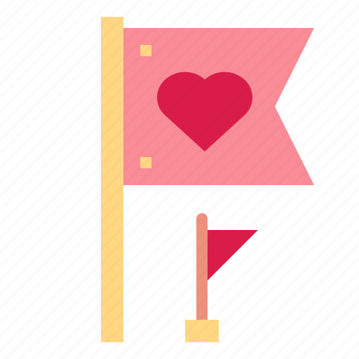 country, flag, love, peace icon