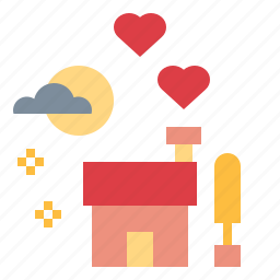 home, house, love, lover icon