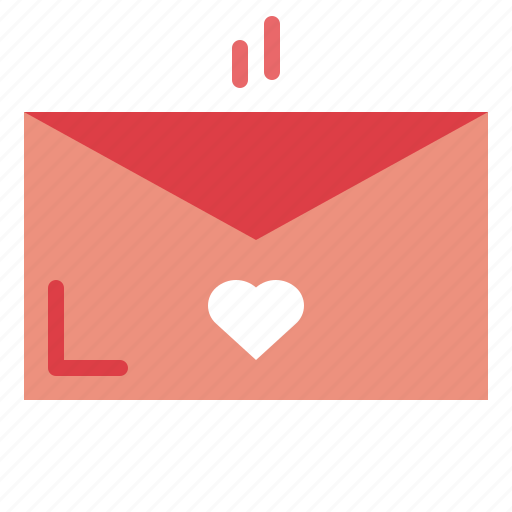 day, letter, love, romance, romantic, valentines icon