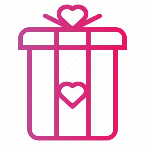 birthday, gift, love, surprise icon