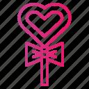 candy, dessert, lollipop, love, sugar icon