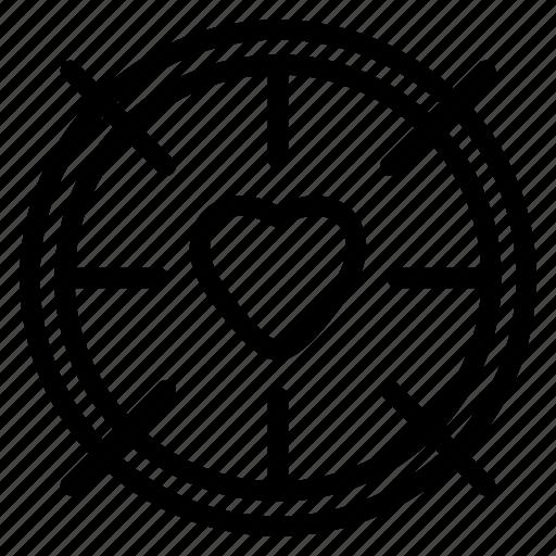 gift, heart, love, romance, valentine icon