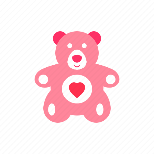 Bear, gift, love, present, romantic, teddy icon - Download on Iconfinder