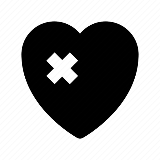 bandage, broken heart, brokenheartedness, feeling hurt, heart icon
