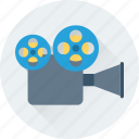 camera, film camera, film recorder, movie camera, video camera icon