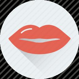 kiss, lips, mouth, smile, woman lips icon