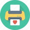 fax, inkjet printer, laser printers, printer, printing machine icon