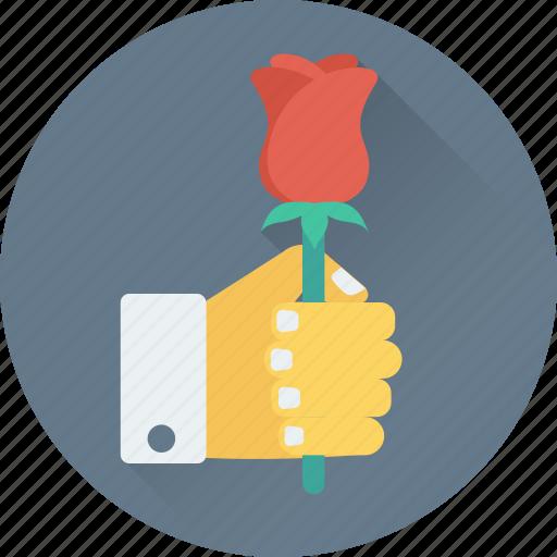 bouquet, in love, proposal, romantic, valentine icon