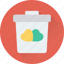 delete, dustbin, infographic, trash, trash can icon