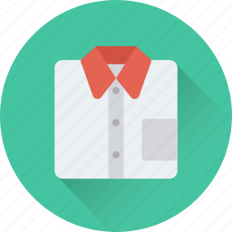 clothes, dress shirt, formal, garments, shirt icon