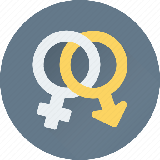 female, gender symbols, male, relationship, sex symbols icon