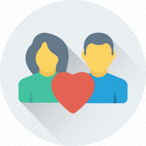 beloved, couple, heart, in love, lovers icon