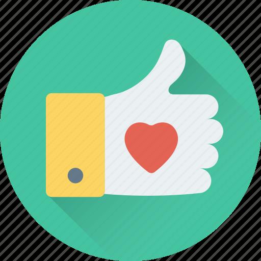 hand gesture, heart, like, ok, thumbs up icon