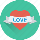 heart, heart badge, insignia, love badge, sticker icon