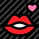 heart, kiss, lip, love, romance, romantic